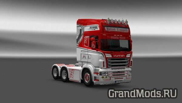 Scania RJL Holland Transports Skin [ETS2]