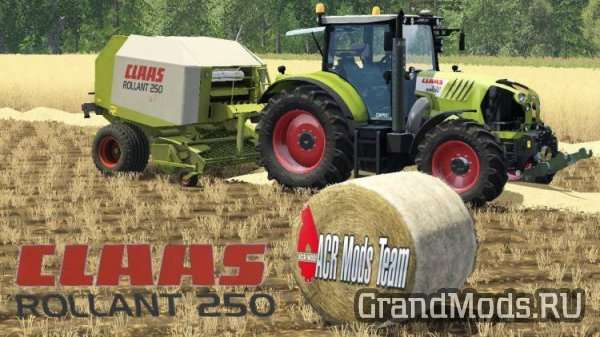 Claas Rollant 250 RotoCut v1.0