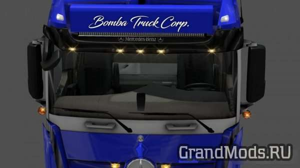 Sunshield For Mercedes MP4 [ETS2]