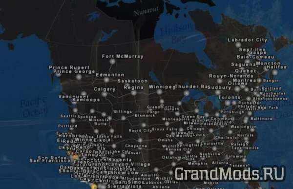 CanaDream Map v 2.0.1 [ATS]