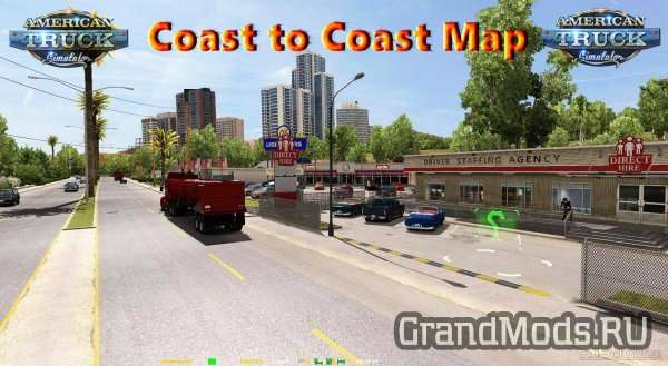 Coast to Coast Map Re-scale Beta Patch 4 [ATS]