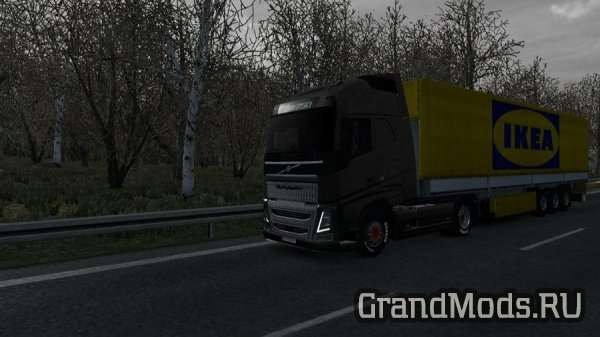 Mild Winter Weather Mod v2.6 [ETS2]