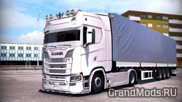 Scania S-Series Turkish Job V1.0 [ETS2]