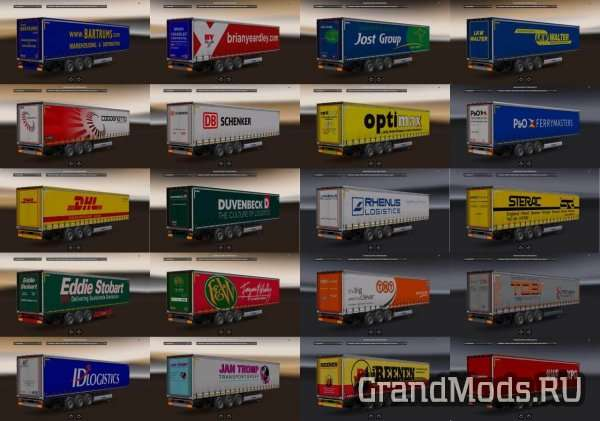 Krone Cooliner and Profiliner v 1.1 [ETS2]