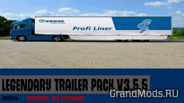 Legendary Trailer Pack V3.5.5 [ETS2]