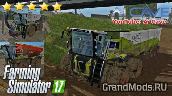 CLAAS XERION 4000 ST PACK BY QWARES [FS17]