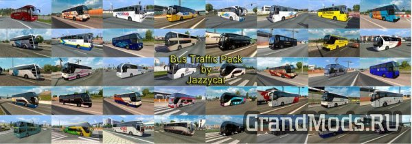 Bus Traffic Pack v2.3 [ETS2]