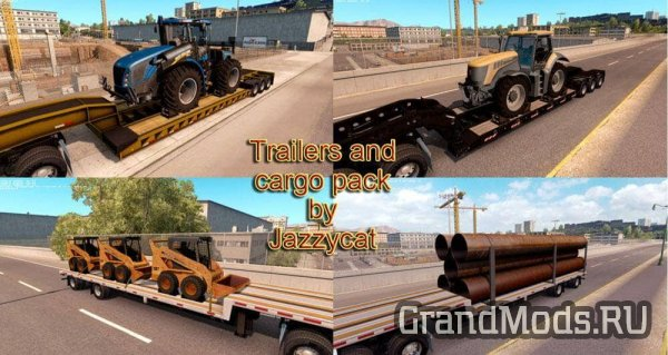 Trailers and Cargo Pack v1.3.1 [ ATS 1.6.x]