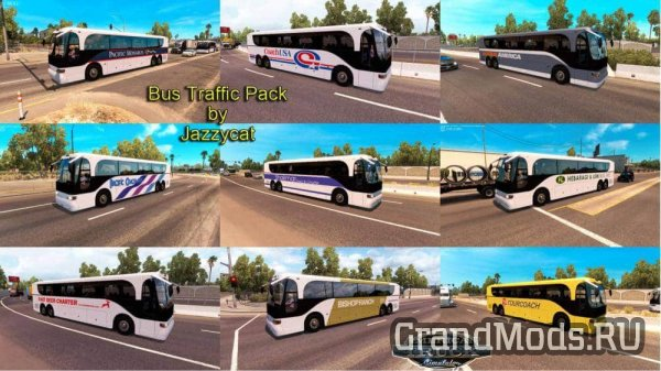 Bus Traffic Pack v1.1 [ATS]