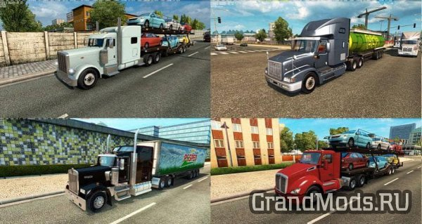 American Truck Traffic Pack v1.4.1 [ETS2]