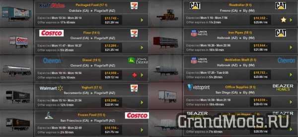 Real Companies & Trailers Pack v 1.4 [ATS]