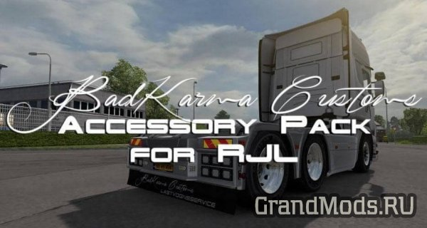 BadKarma Customs Accessory Pack for RJL [ETS2]