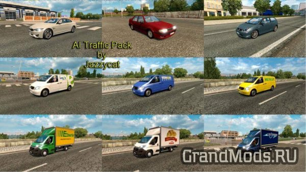 AI Traffic Pack v 5.5 [ETS2 1.28]