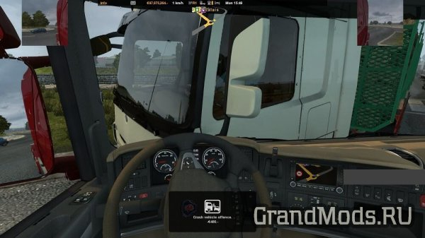 New Route Advisors Mod v 1.1[ETS2 & ATS]