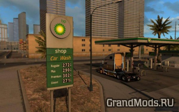 USA REAL GAS STATIONS V1.2 [ATS]