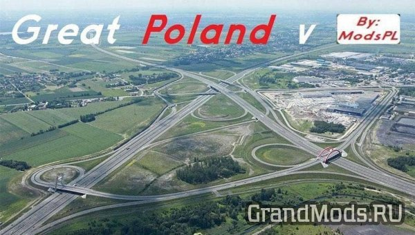 Great Poland v.1.21 by ModsPL [ETS2 v.1.28.x]