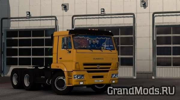 КАМАЗ-65115&65116  для ETS2 [1.23]