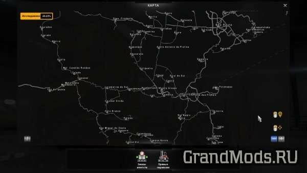 Карта Бразилии v 1.3 для ATS [1.2]