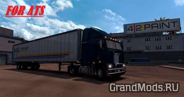 Freightliner FLB edited  [ATS]