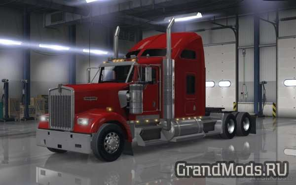 Kenworth W900 Sound