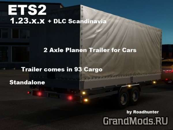 Trailer for Cars [ETS2 1.23.x]