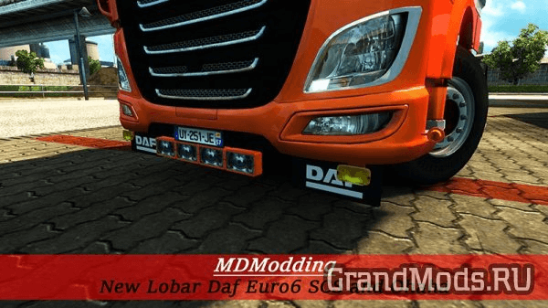 New Lobar Daf Euro6 SCS and Ohaha [ETS2]