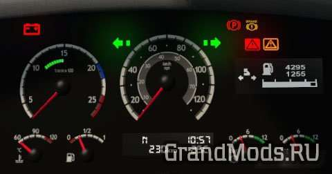 Alexa Scania 5-Series gauges
