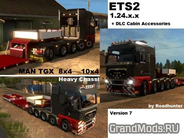 MAN TGX 8×4 10×4 Version 7