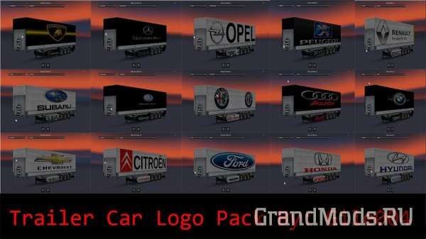 Cars Logo Trailer Pack