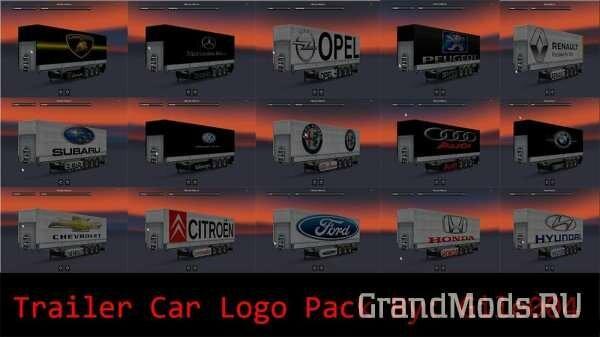 Cars Logo Trailer Pack