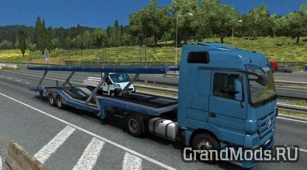 TRAILERS IN TRAFFIC V 1.5 [ETS2 1.24]