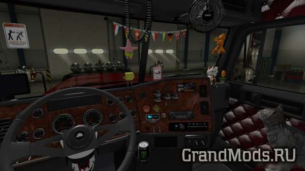 Freightliner Classic v 3.1.3 SiSL & SCS Cabin Accessories Addon