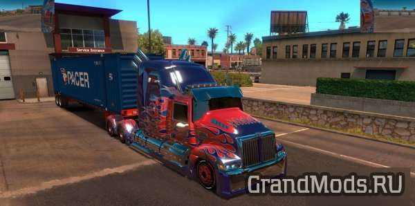 Wester Star 5700 Optimus Prime [ATS 1.3.x]