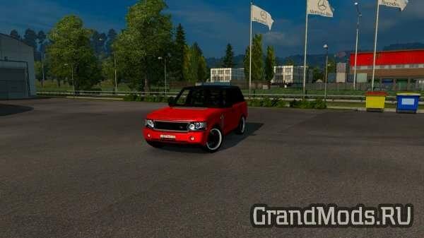 RANGE ROVER – LUXURY SUV+ DLC FLAG V1.1 [ETS2]