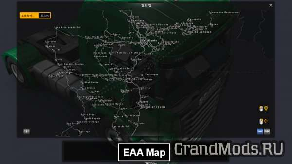 Union Map v 3.0 [ETS2 v.1.25]