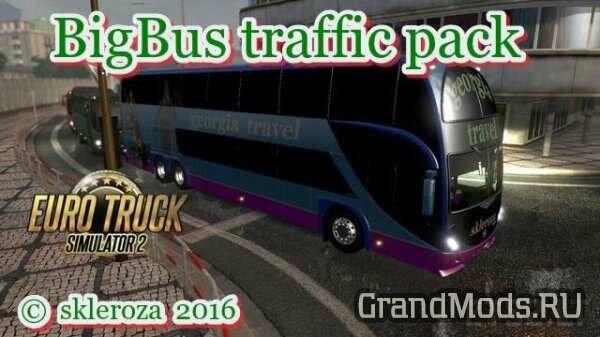 BigBus traffic pack v 1.4.9 [ETS2]