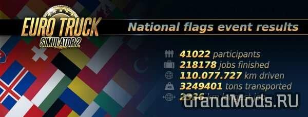 Событие National Flags завершилось.