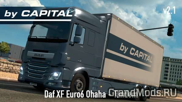 Daf XF Euro6 Ohaha Tandem - ByCapital v2.1  [ETS2 1.24]
