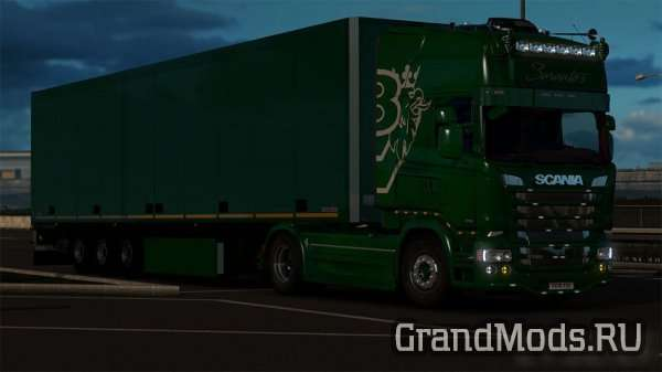 Combo Skin Pack for Scania RJL
