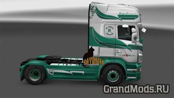 Scania R&S Topline Mc KNIGHT skin [ETS2]