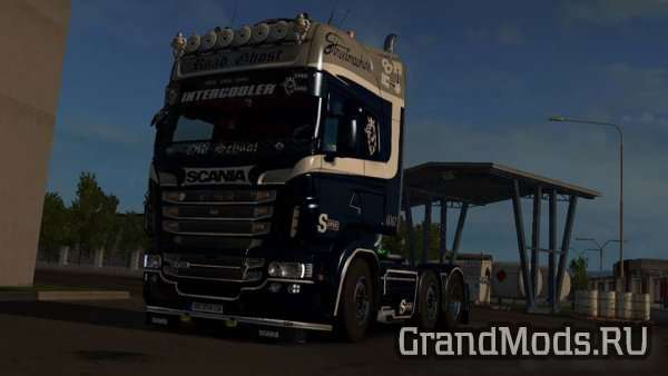 Road Ghost Skin for Scania RJL [ETS2]