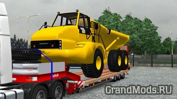 Cat 740 Trailer [ETS2]