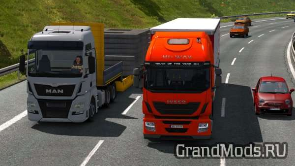 Iveco Hi-Way Reworked v1.1 [ETS2]