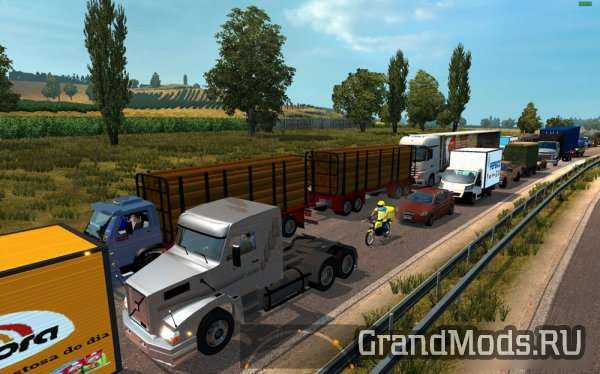 The Largest & Most Diversified Brazilian Traffic for 1.24  [ETS2]