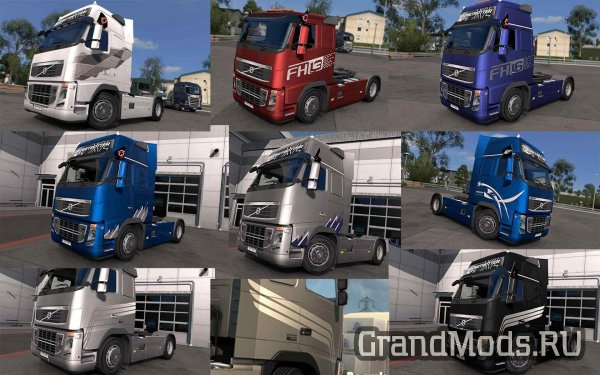 Skin Pack for VOLVO FH 2009  [ETS2]