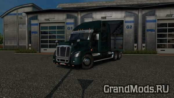 Freightliner Cascadia v 2.1.24 [ETS2]
