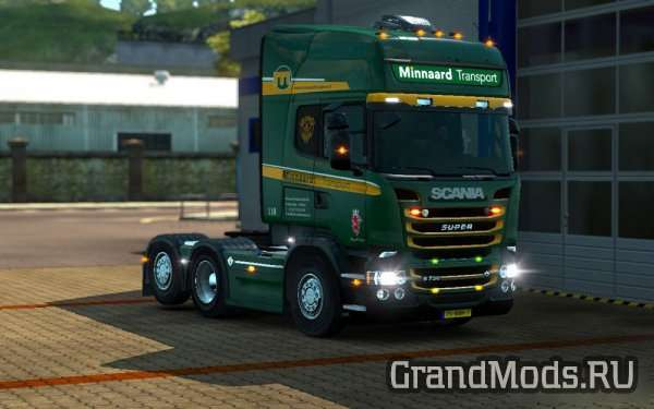 Scania RJL Minnaard Transport Skin [ETS2]