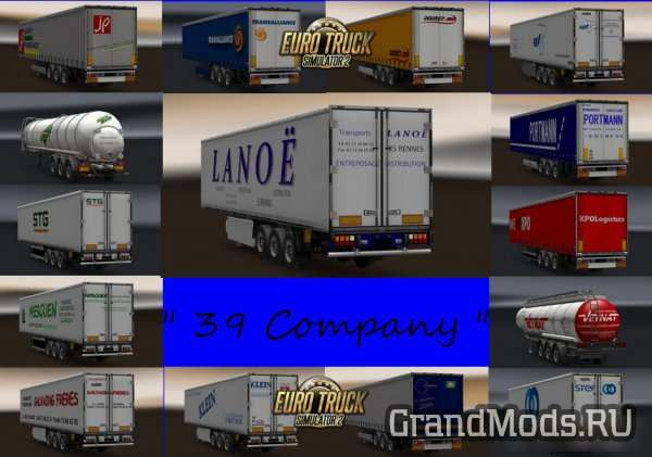 Trailer Pack by TruckIme | V.1 [ETS2]