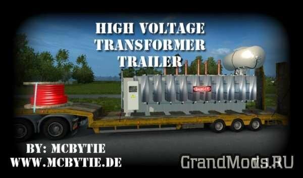 High Voltage Transformer Trailer v1.1 [ETS2]