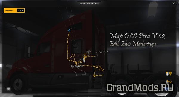 MAP DLC PERU [ATS]